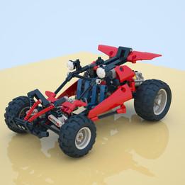 Lego Technic set 8048 Buggy-2010