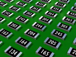 Chip Resistors 1206 E24 series