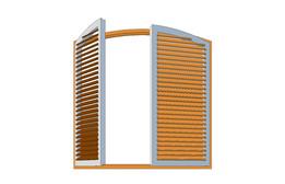 pine shutter