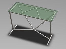 Glass Table Concept