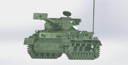 Panzerkampfwagen, Sheetmetal puzzle, 3d puzzle, 3d model,World War II, German Tank, metalcraftdesign