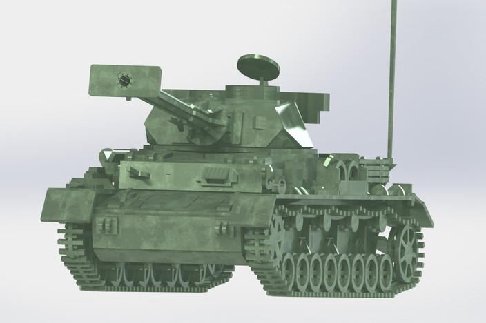 Tank Wars 3d 3d Model,world War ii
