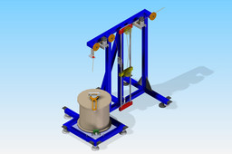 Cable decoiler