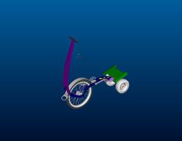 halfbike (my own design)