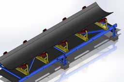 conveyor frame - 6 mtrs