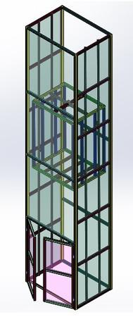 elevator - Most downloaded models | 3D CAD Model Collection
