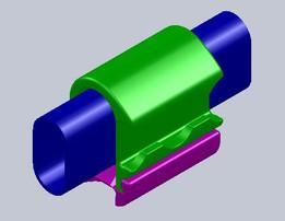 CHAMP 3 - NASA Handrail Clamp