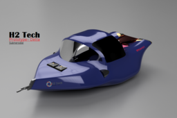 Hydrogen Fuel Cell Submersible -Concept (Military)