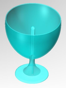 Pythagorean Cup (It will empty if overloaded)