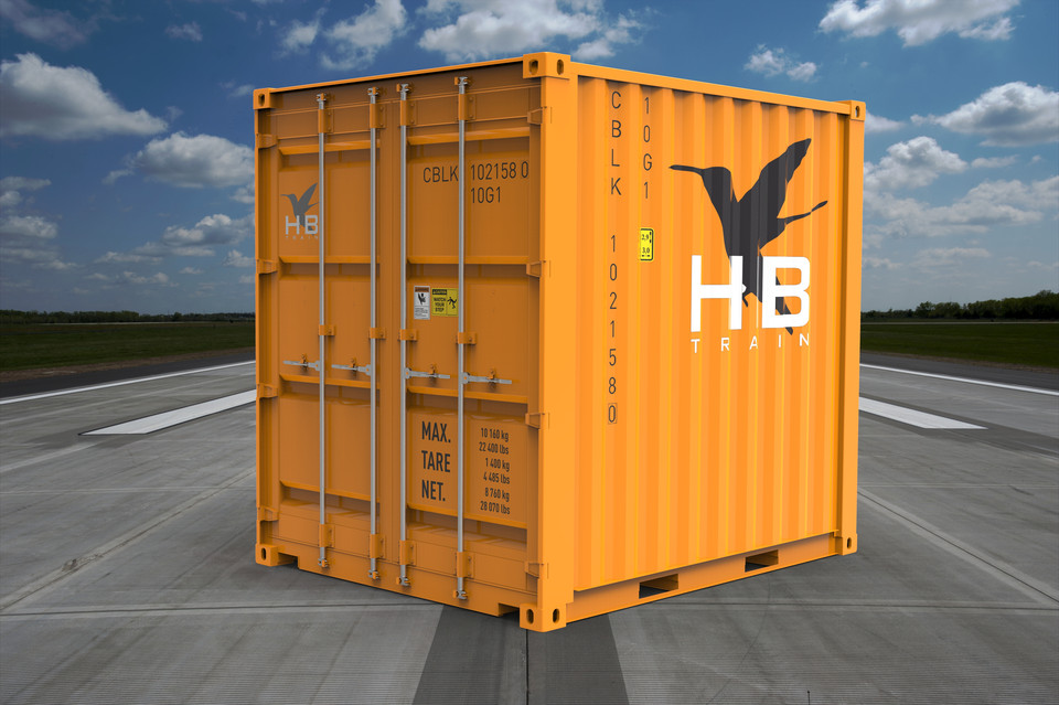 10ft High Cube Shipping Container   3D CAD Model Library ...