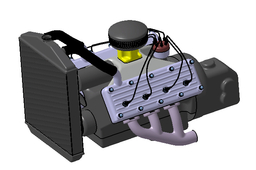 Flathead V8 engine