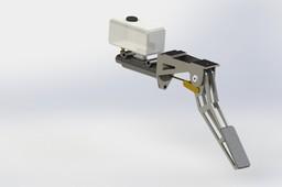 Full brake pedal assembly
