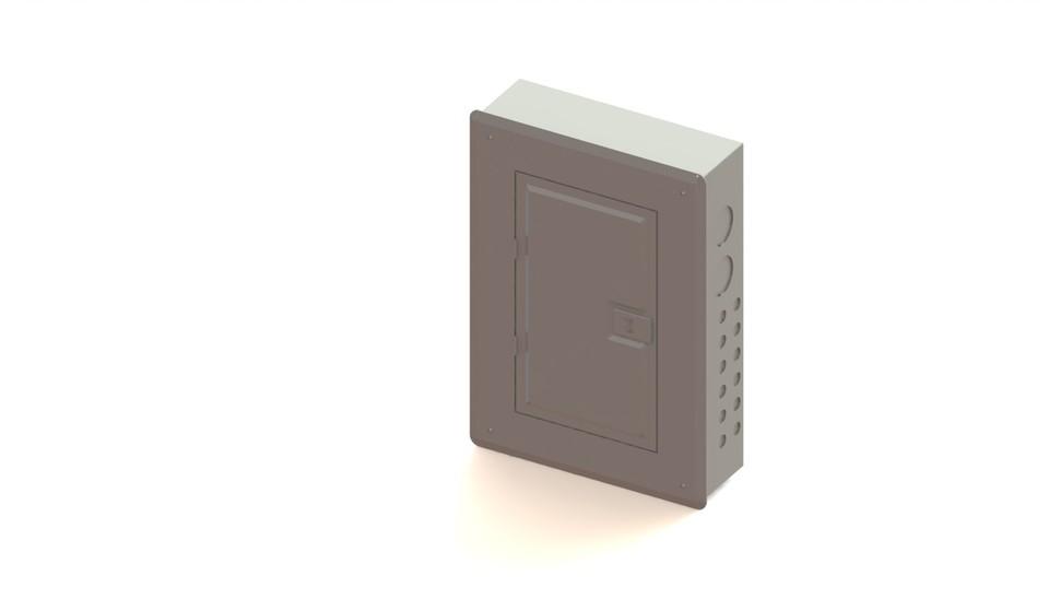 Breaker box | 3D CAD Model Library | GrabCAD