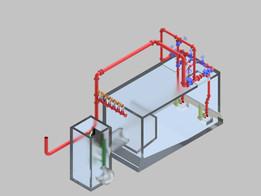Firefighting Sea water Pump House Underground System