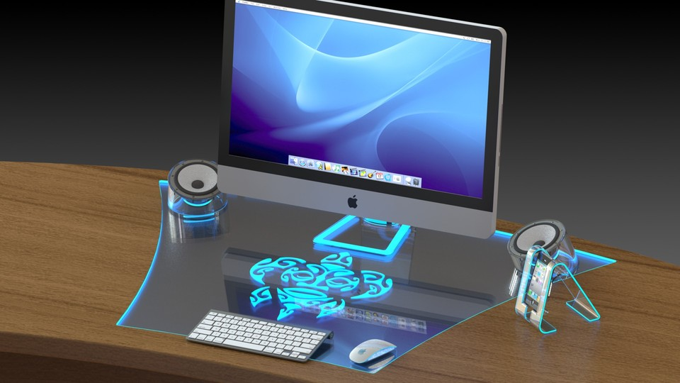 High Tech Desk high tech desk - solidworks - 3d cad model - grabcad