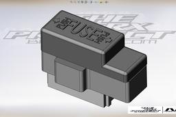 Yamaha TRX 850 Fuse box.