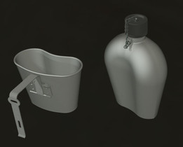 WWII US Army canteen