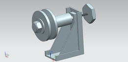 Pulley support assembly