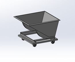 CNC Waste Chip Cart
