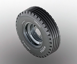 Wheel, Trailer 4.80/4.00-8  straight tread