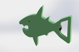 Shark Penny Bottle Opener