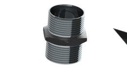 Double collet (ferrule).