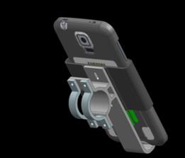 Galaxy S5 Bike mount