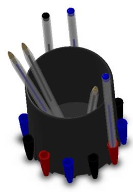 Pen Lid Invention - Mason (pen pot)