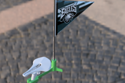 Mini Flag (Pennant) Holder