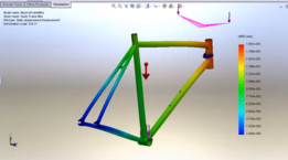 Static Analysis of a Bike Frame