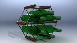 Wine rack - var. B