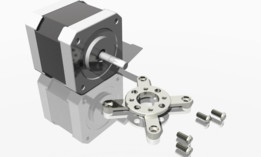 Stepper motor mounts NEMA 17