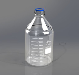 Simax lab bottle 2l GL45