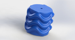 Texture roller for clay