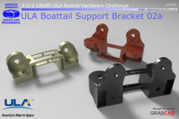 ULA Boattail Support Bracket 02a