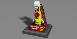 Grabby Goes Gold - Golden Gear Awards 2015