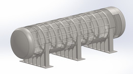 LPG Tank with Internal structure