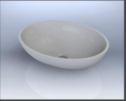 Sink Oval / OV43 corian
