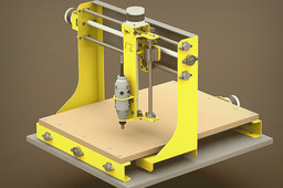 CNC ROUTER MILLING MACHINE (CT-1)