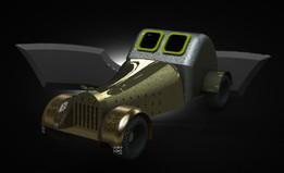 New Version of Vintage Car