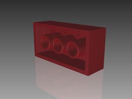 2x4 LEGO Block
