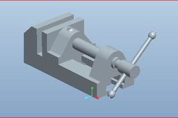 Bench Vice Assembly and Parts