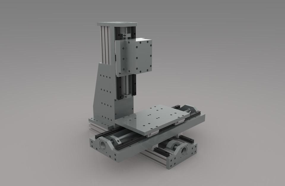 DIY cnc mill | 3D CAD Model Library | GrabCAD