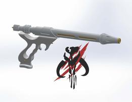 Jango Fett Westar - 34 Blaster