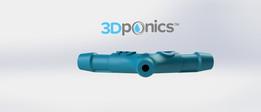 Y-Splitter Version 2 - 3Dponics Drip Hydroponics System