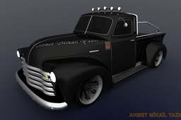 Chevrolet Pick-up 1951 3100