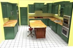 Earthtone Kitchen