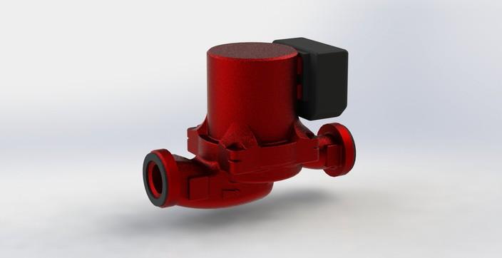 Salmson circulating pump NXL13-25P