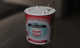 Useless Machine in a Can