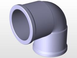 PVC 90 Elbow 25mm